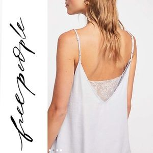 🆕 Free People Deep V Bandeau Lace Cami